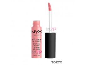 Batom Soft Matte Lip Cream Tokyo Nyx