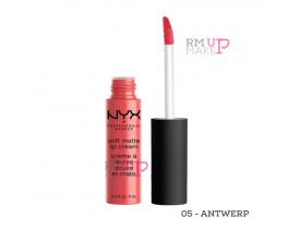 Batom Soft Matte Lip Cream  Antwerp Nyx