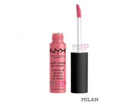 Batom Soft Matte Lip Cream Milan Nyx