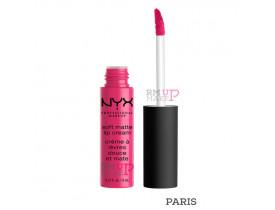 Batom Soft Matte Lip Cream Paris Nyx