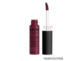 Batom Soft Matte Lip Cream Vancouver Nyx