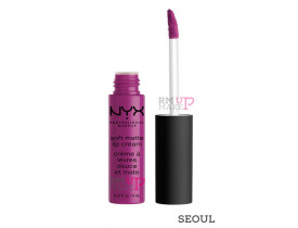 Batom Soft Matte Lip Cream Seoul Nyx