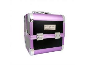 Maleta Profissional para Maquiagens D-0011-BL/PP Klass Vough