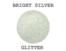 Glitter Bright Silver Color Pigments