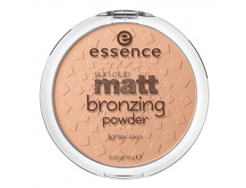Bronzer Sun Club Matt Bronzing Powder 01 Lighter Skin Essence