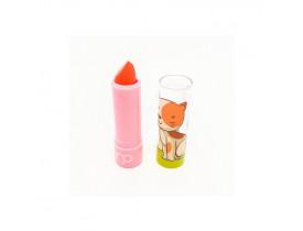 Batom Infantil Gatinha Maria Pink Cor 01