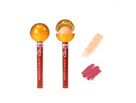 Lip Balm e Gloss Labial Pirulito Cor 02 Mylife