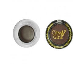 Sombra para Sobrancelha + Delineador em Gel Cor B City Girls