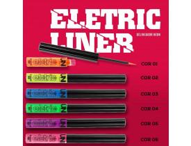 Delineador Neon Eletric Liner Colorido Uni Makeup