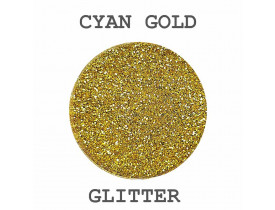 Glitter Cyan Gold Color Pigments
