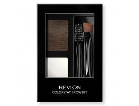 Kit de Sobrancelha Dark Brown Revlon