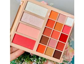 Paleta de Sombras, Blushes e Iluminadores Fashion Makeup Mylife