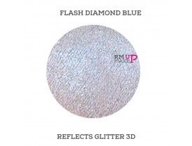Reflects Glitter 3D Flash Diamond Blue Color Pigments