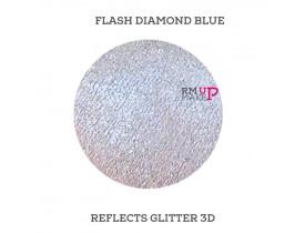Reflects Glitter 3D Flash Diamond Blue Color Pigments