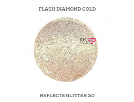 Reflects Glitter 3D Flash Diamond Gold Color Pigments