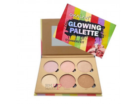 Paleta Glowing Shimmers Kit Okalan