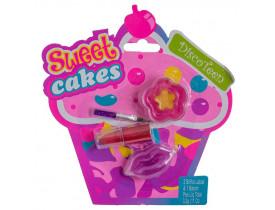 Kit de Maquiagem Infantil Sweet Cakes Disco Teen