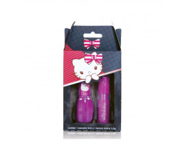 Kit de Esmalte e Batom Hello Kitty By Dote