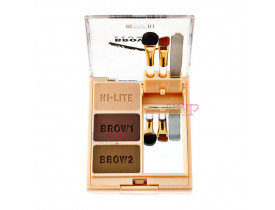 Kit para Sobrancelhas Brow Fix 03 Dark Milani