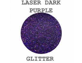 Glitter Laser Dark Purple Color Pigments