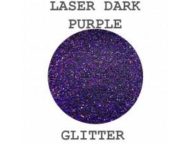 Glitter Laser Dark Purple Color Pigments