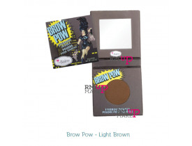Sombra de Sobrancelha Brow Pow Light Brown The Balm