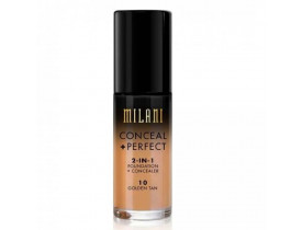Base Conceal+Perfect 2-IN-1 10 Golden Tan Milani
