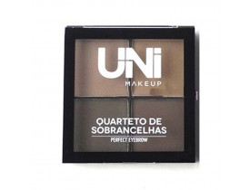 Quarteto para Sobrancelha Perfect Eyebrow Cor A Uni Makeup