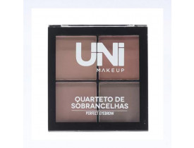 Quarteto para Sobrancelha Perfect Eyebrow Cor B Uni Makeup