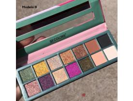 Paleta de Sombra Style 14 Cores SP Colors