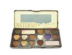 Paleta de Sombra Natural Color B Okalan