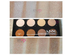Paleta Highlight & Contour Pro Nyx