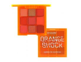Paleta de Sombra Orange Shock
