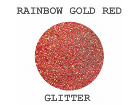 Glitter Rainbow Gold Red Color Pigments