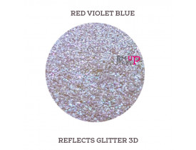 Reflects Glitter 3D Red Violet Blue Color Pigments