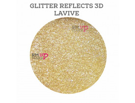 Glitter Reflects Lavive Fand Makeup