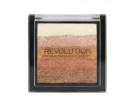 Paleta Shimmer Brick Bronze Kiss Revolution London