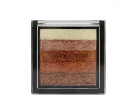 Paleta Shimmer Brick Rose Gold Revolution London