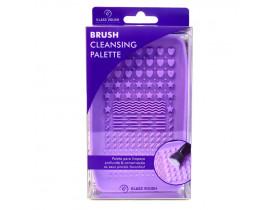 Tapete de Silicone para Limpeza de Pincéis Brush Cleanser Pallet Klass Vough