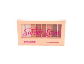 Paleta de Sombra Sweet Love Sp Colors