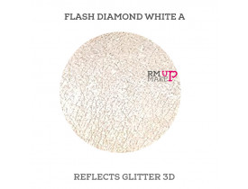 Reflects Glitter 3D Flash Diamond White A Color Pigments