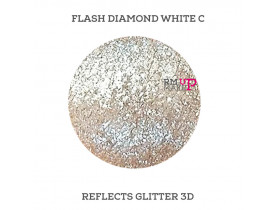 Reflects Glitter 3D Flash Diamond White C Color Pigments